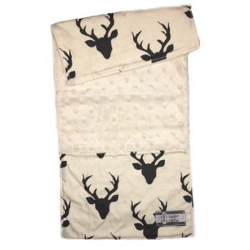 Baby Burp Cloth- Antlers