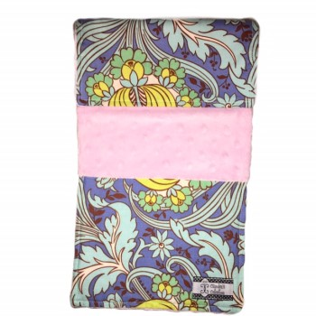 Baby Burp Cloth- Pink Whimsy
