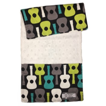 Baby Burp Cloth- Guitars
