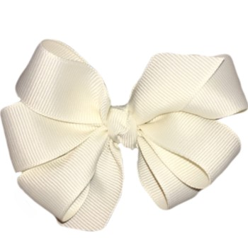 Medium Bow- Cream