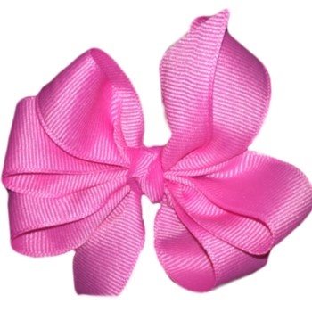 Medium Bow- Hot Pink