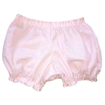 Bloomers- Pink or Blue Seersucker, Pink or Blue Gingham