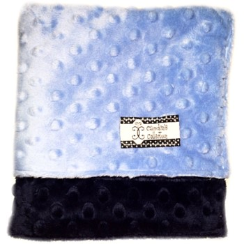 Lovie - Sky Blue and Navy Dimple Dot