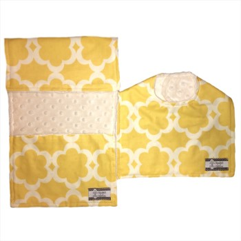 *Bib and Burp Cloth Set - Sunshine