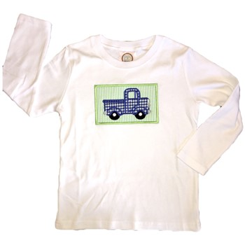 Applique Tee - Little Blue Truck